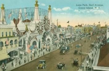 Luna Park Postcard