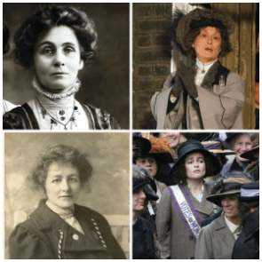 SUFFRAGETTE  composite