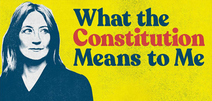 JUNE 5th: WHAT THE CONSTITUTION MEANS TO ME