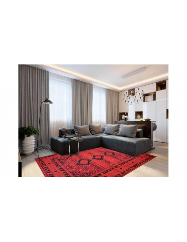 tapis maghreb rouge