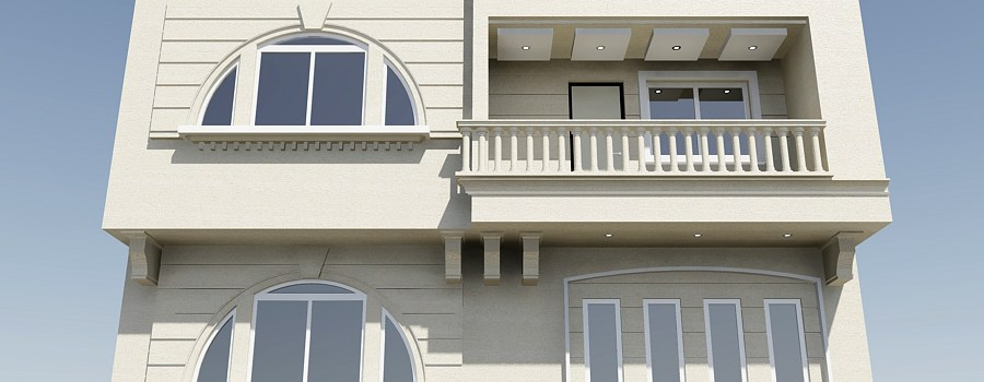 Baran Apartment Exterior Design