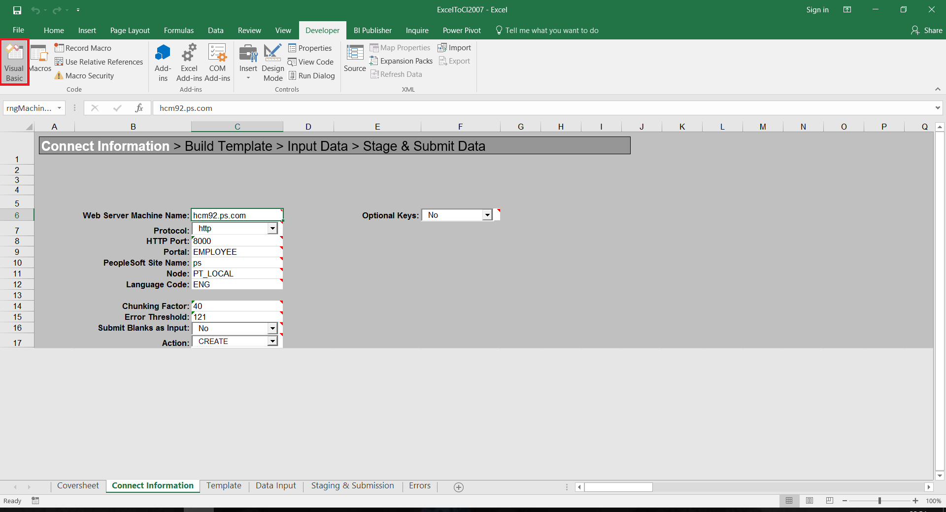 Excel To Ci Utility Not Working In Excel