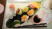 きゃわわな手毬寿司