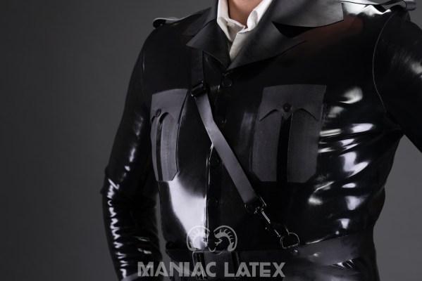 Guardian Jacket_Guardian Belt_Aries_Maniac Latex