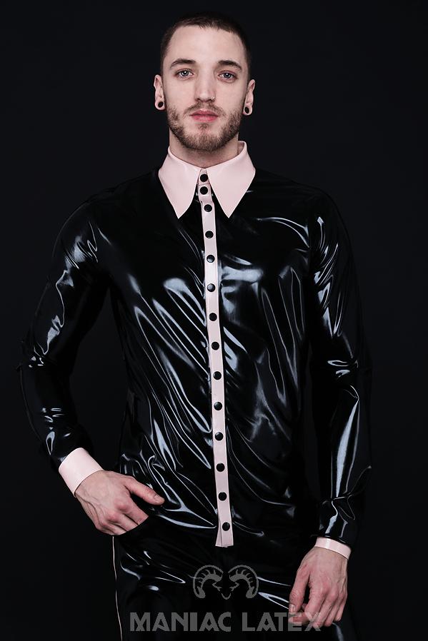 Classy Shirt_Spikes'n'Stripes_Maniac Latex