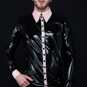Classy Shirt_Spikes'n'Stripes_Maniac Latex