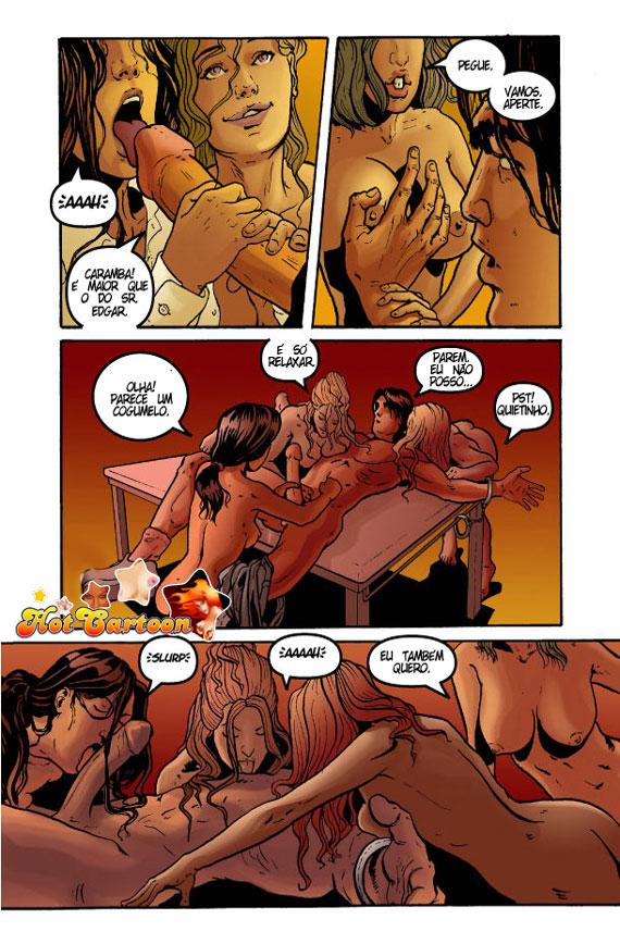 A Vingança das Alunas 1 – HQ Comics