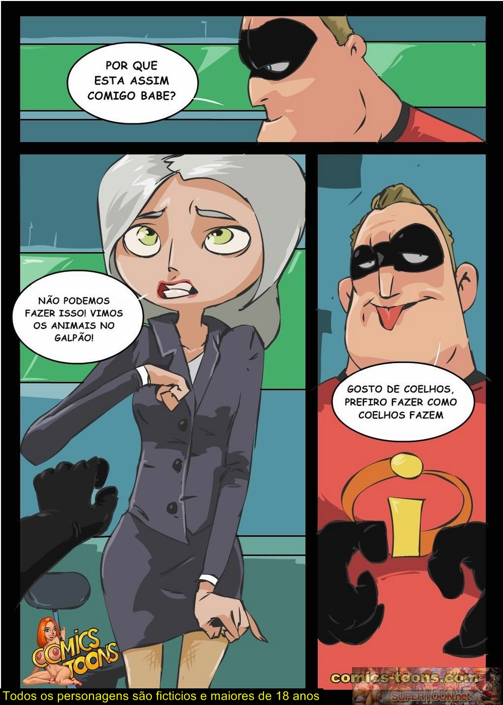 incredibles porn comic