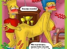 Os Simpsons – Toon Babes – Comics