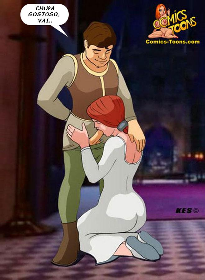 Shrek porno komiks