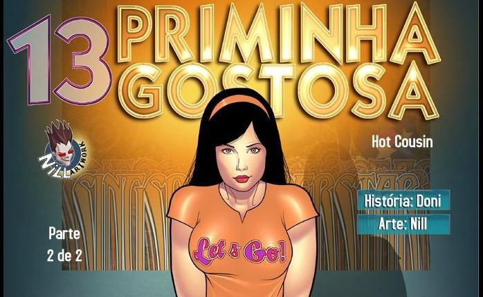 Priminha Gostosa 13 – Parte 2 – HQ Comics