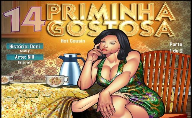 Priminha Gostosa 14 – Parte 1 – HQ Comics
