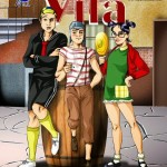 Turma da vila – Chaves metendo a Rola na Chiquinha – HQ Comics
