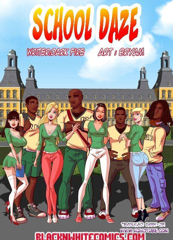 School Daze 1 part.1 – Quadrinhos Eróticos