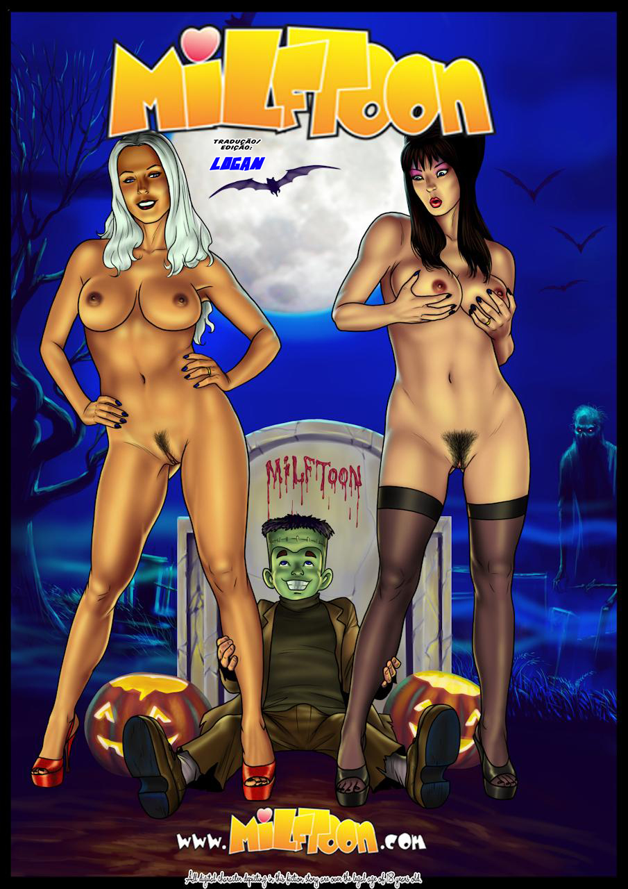 Fright Night – A Hora do Espanto Milftoon – HQ Comics