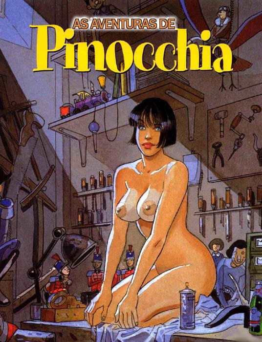 Pinóquia a Ninfomaníaca – Quadrinhos Eróticos