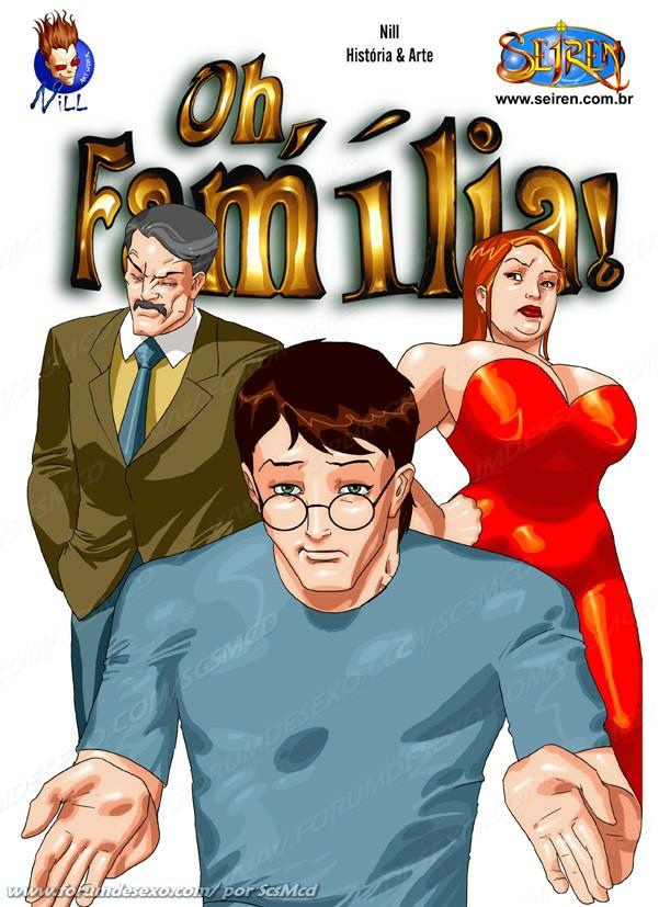 Oh Família! 1 Parte 1– HQ Comics