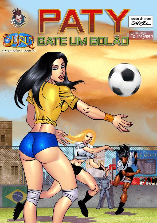 Paty Bate um Bolão – HQ Comics