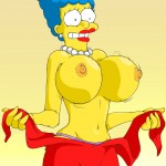 As Tetas de Marge Simpson – Cartoon Comics