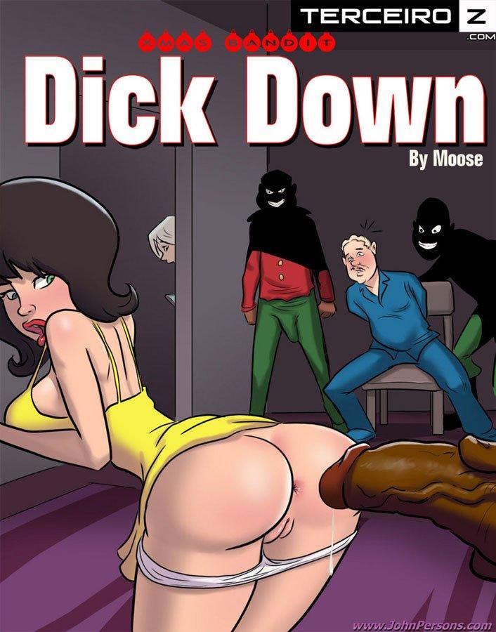 Dick Down – Inter-racial – Hq Comics