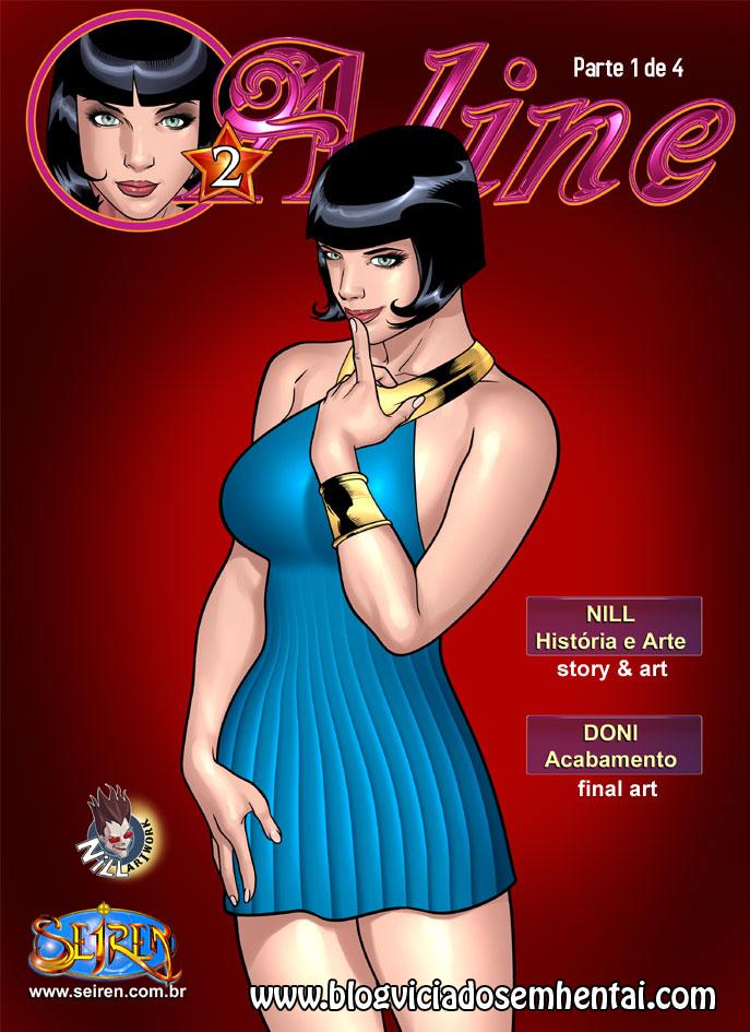 Aline 2 – Parte 1- HQ Comics