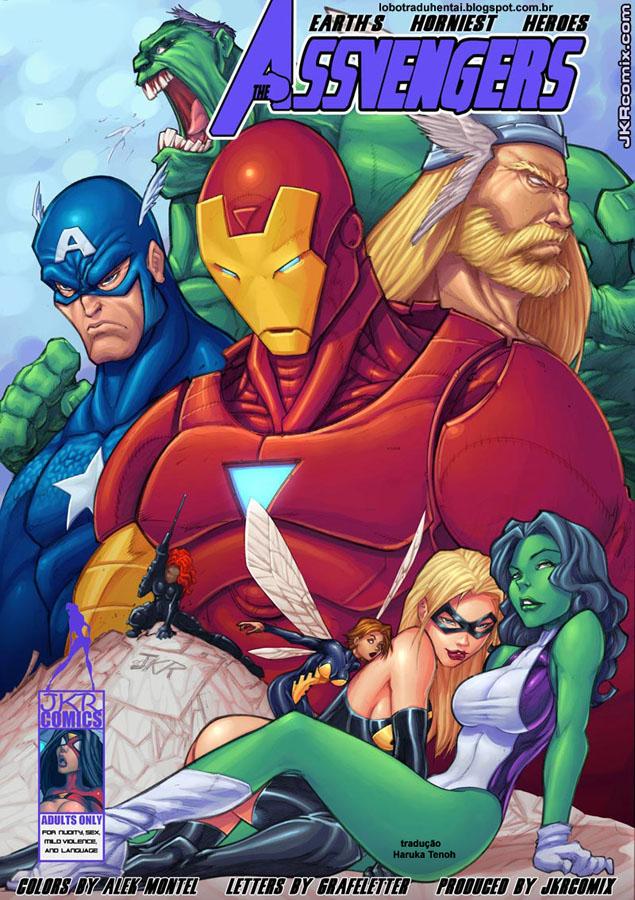 Os Vingadores- HQ Comics