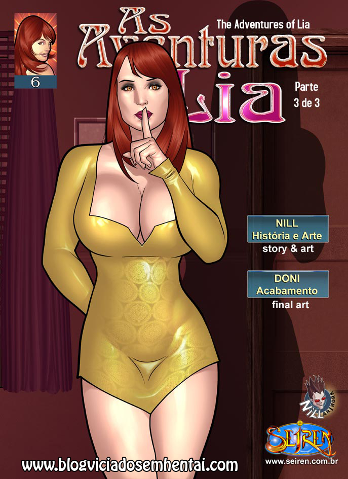 As Aventuras de Lia 6 – parte 3 – HQ Comics