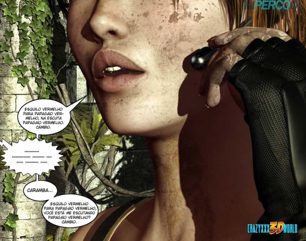 Clara Ravens 1- 3D Comics