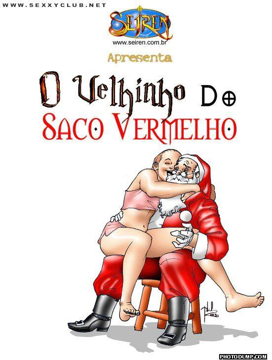 O Velhinho do Saco Vermelho 01– HQ Comics