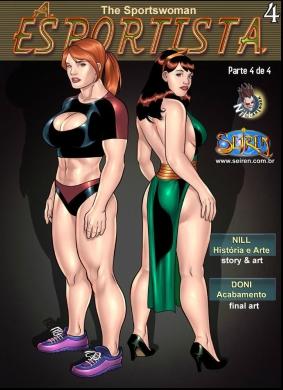 A Esportista 4- Parte 4- Quadrinhos Porno