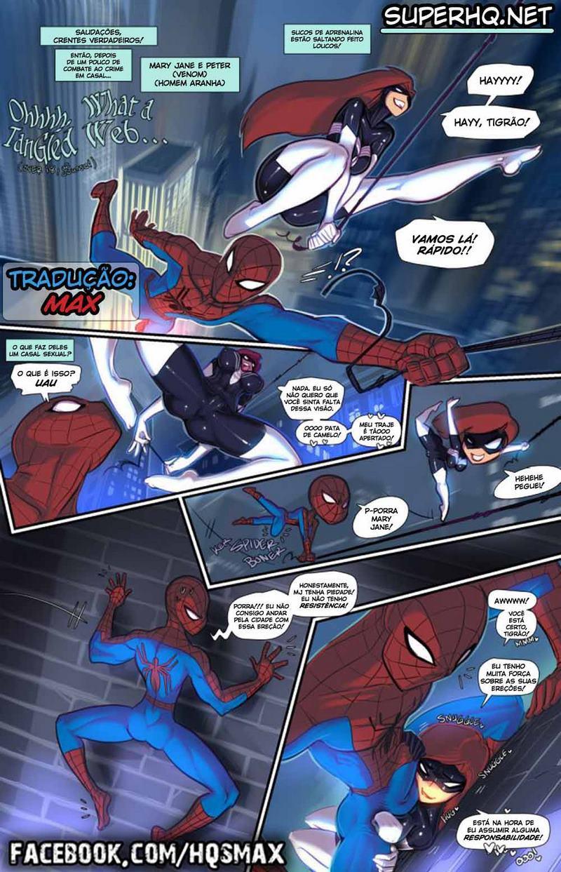What a Tangled Web (Homem Aranha)