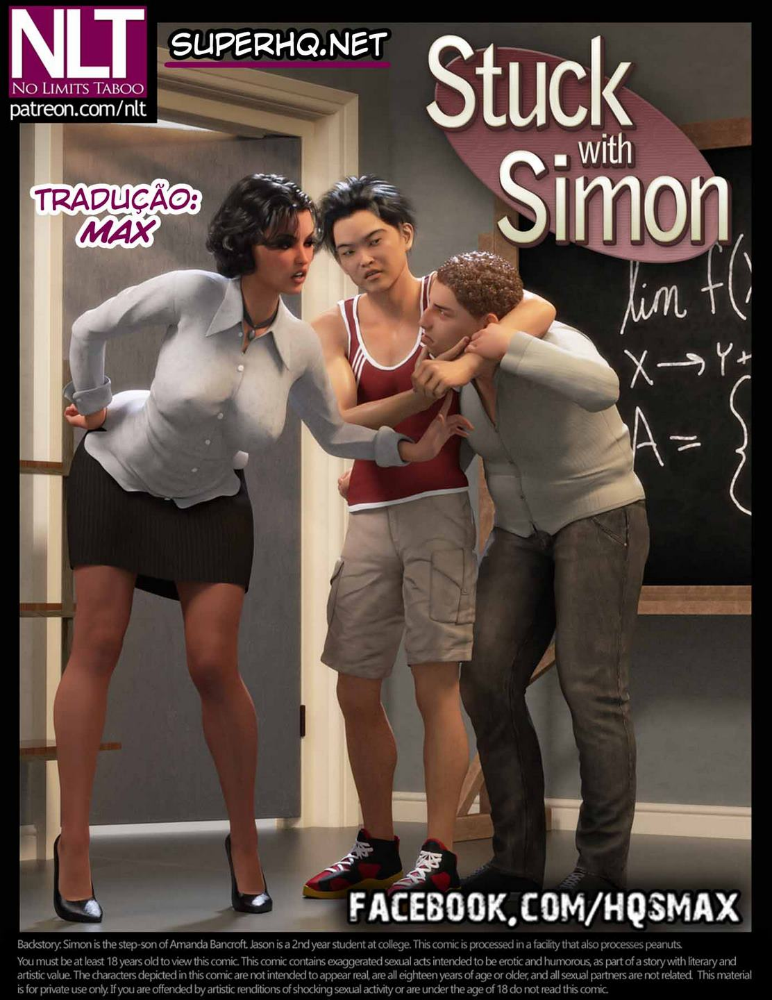 Stuck With Simon– 3D Comics