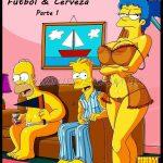 The Simpsons- Fútbol y cerveza-parte 1 – Espanhol Comix
