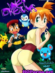 Wet Dreams parodia Pokemon – Palcomix