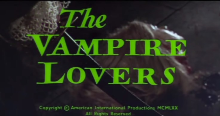 The Vampire Lovers - Title