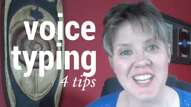 voice typing 4 tips