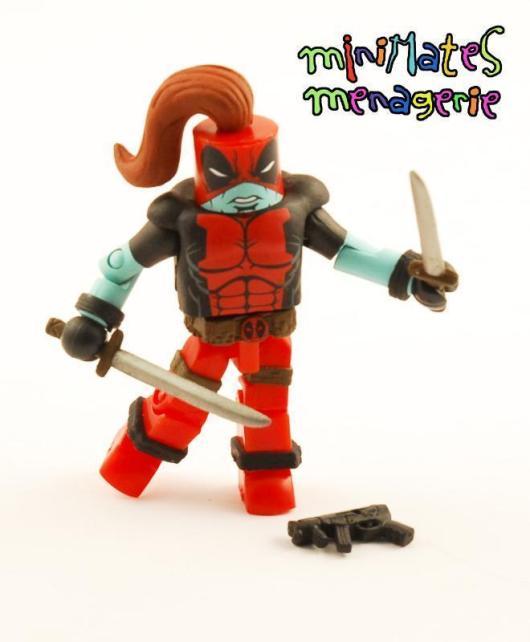 Diamond Select Deadpool Champion Minimates