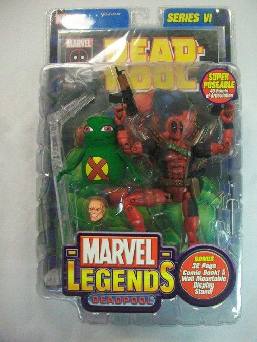Figurki Deadpool ToyBiz 2004