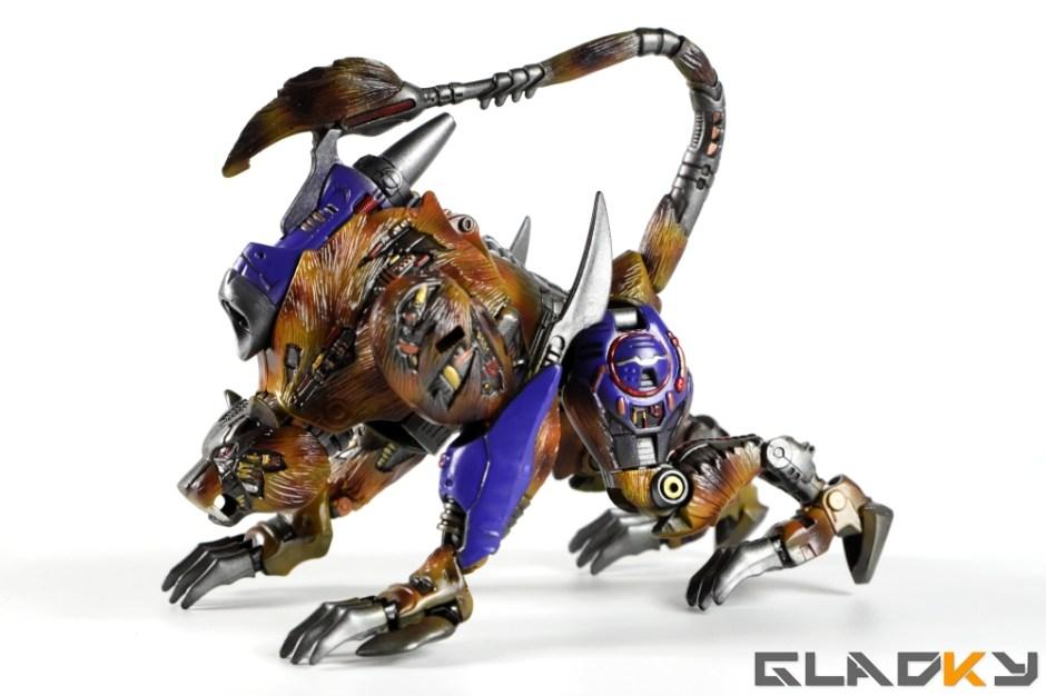 Gladky Custom Beast Wars Transmetal II Cheetor (17)