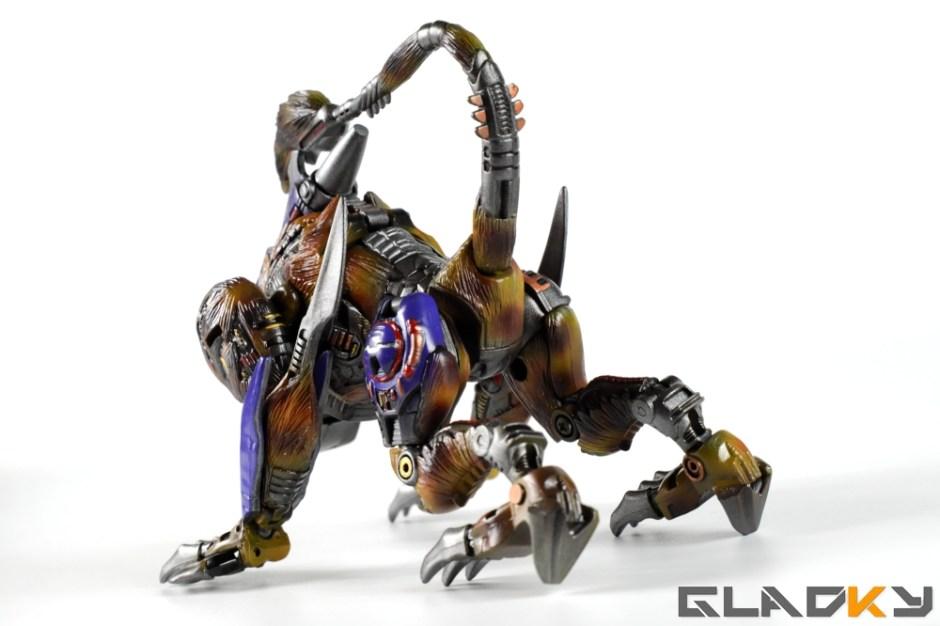 Gladky Custom Beast Wars Transmetal II Cheetor (18)