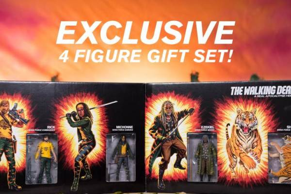 SDCC 2017 The Walking Dead Shiva Force