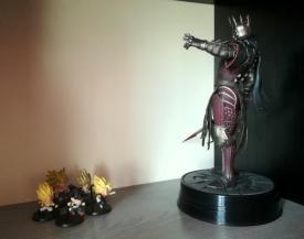 Dark Horse Eredin vs Dragon Ball minifigures