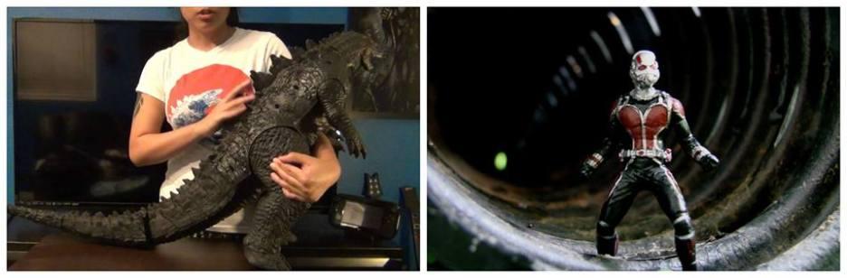 Godzilla vs Ant-Man