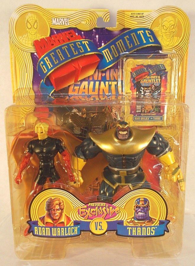 figurka thanos komiksowa greatest battles toy biz