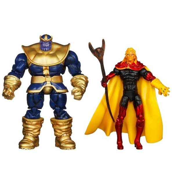 figurki Thanosa Marvel Universe Thanos vs Adam Warlock 3.75
