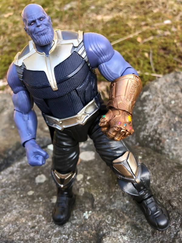 hasbro marvel legends baf thanos avengers infinity war