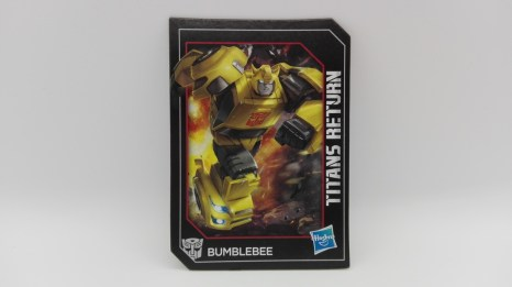 Transformers Generations Titans Return Bumblebee card-art