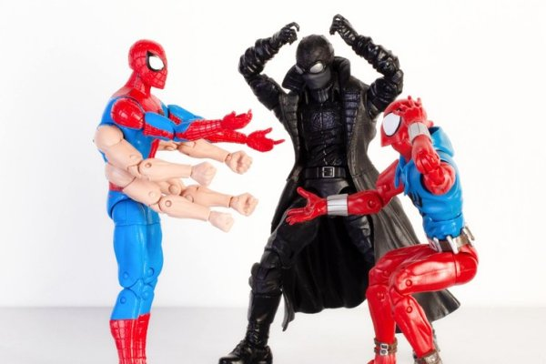 marvel legends six arms spider-man