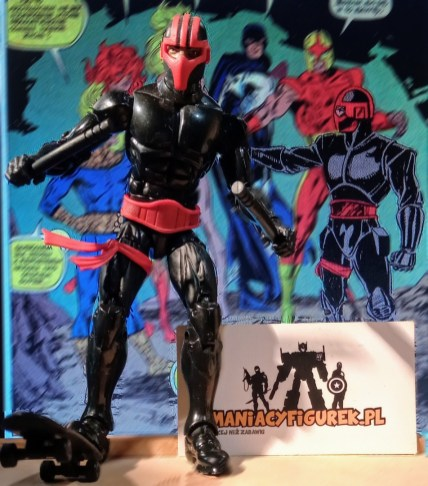 ManiacyFigurek Marvel Legends Kingpin BAF Night Thrasher 2