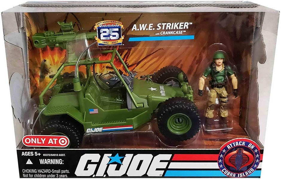 gi joe 25th anniversary awe striker 2008
